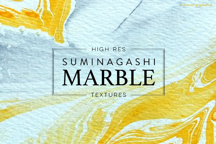 Marble Paper Textures example image 1