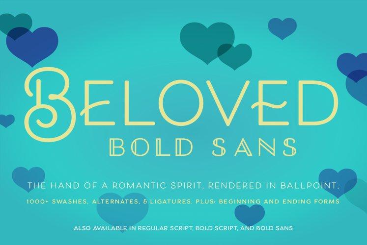 Beloved Sans Bold example image 1