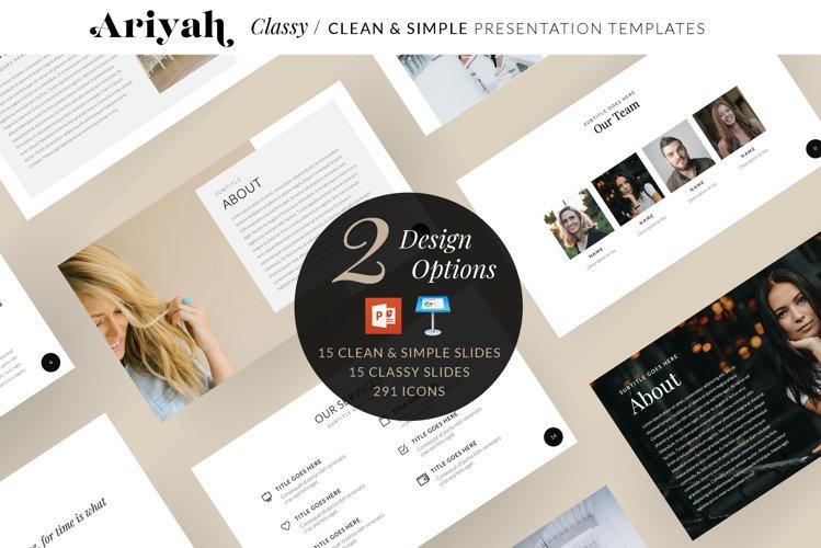 ARIYAH PowerPoint & Keynote Slides