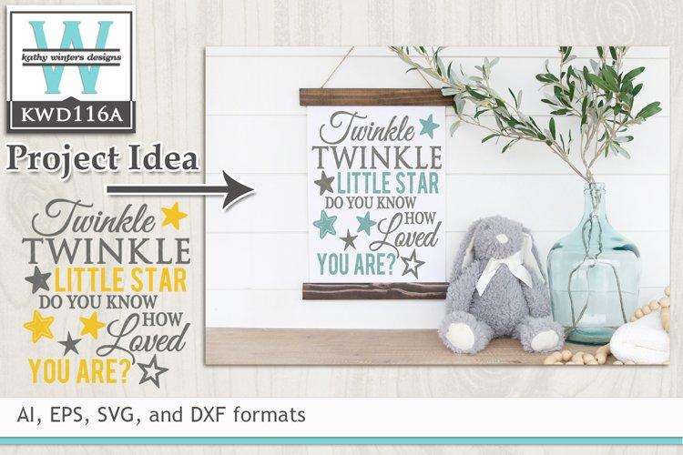 Children SVG - Twinkle Twinkle