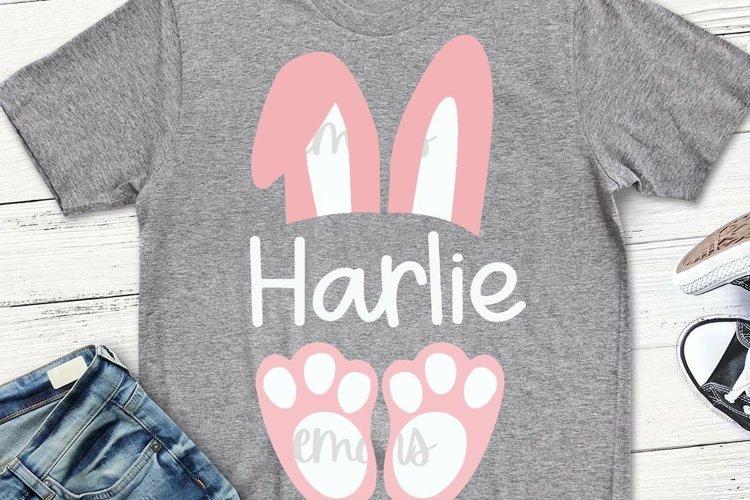 Easter Bunny svg, girls easter svg, bunny svg, cricut, svg