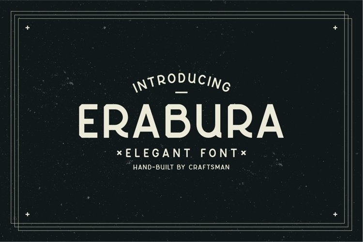 Erabura Elegant Font example image 1