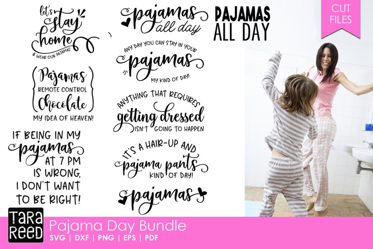 Pajama Day Bundle example image 1