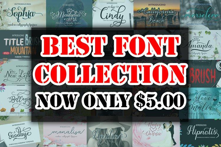 HAPPY NEW YEAR Font Bundle example image 1