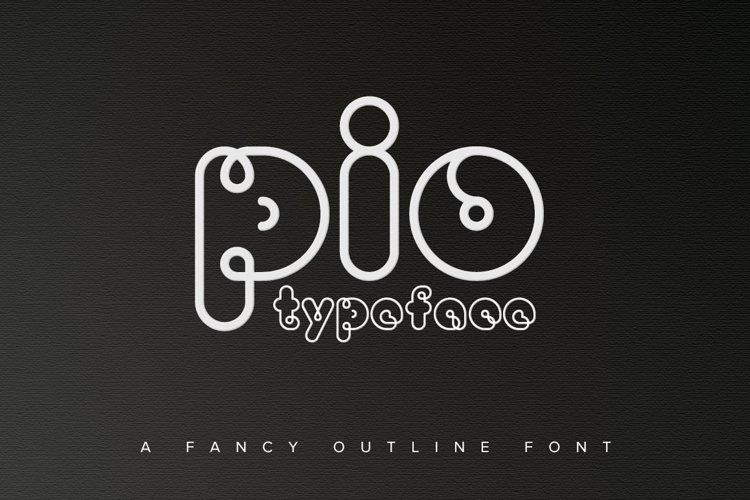 PIO Rounded TrueType example image 1
