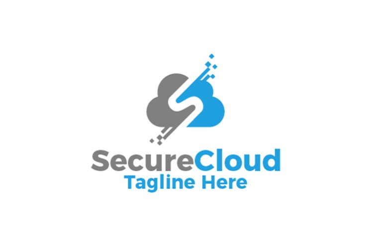 Secure cloud Logo example image 1