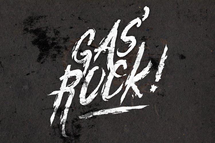 GasRock! Font