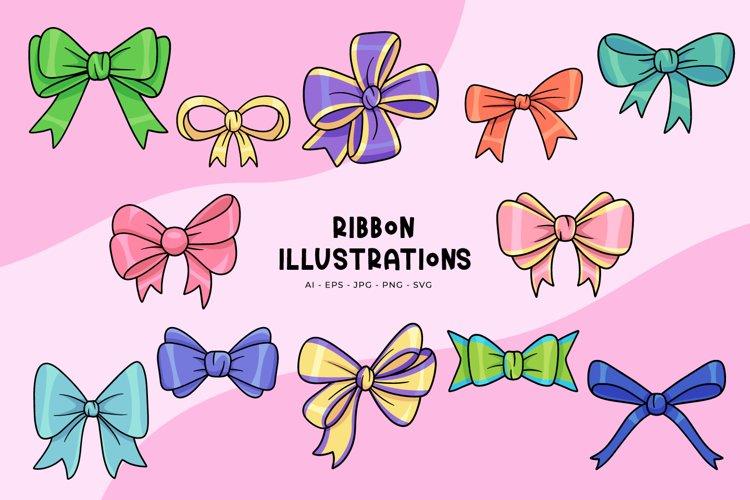 Ribbon Illustrations