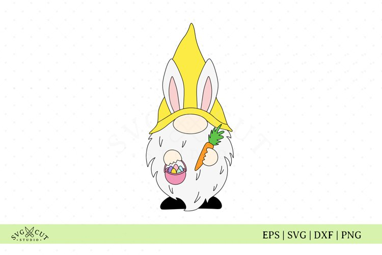 Easter Gnome SVG Files