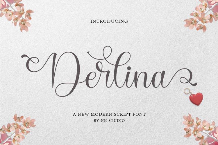Derlina Script example image 1