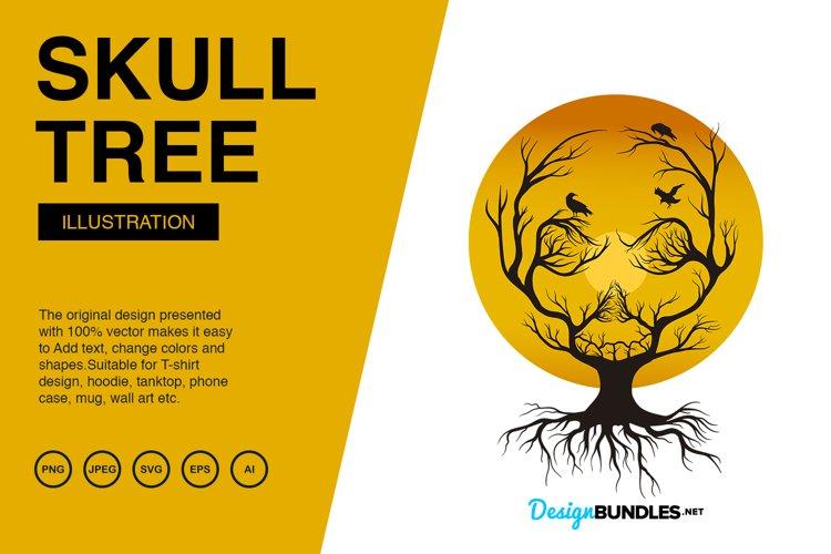 Tree Skull Illustrations
