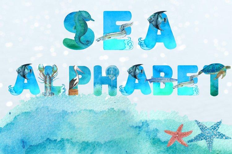 Sea Alphabet example image 1