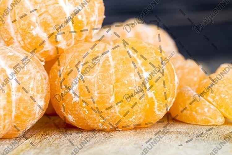 whole large orange tangerines example image 1