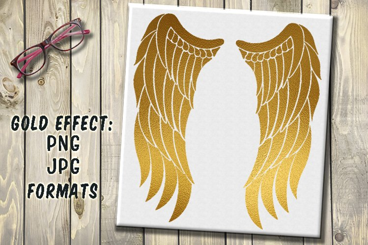 angel wings clipart example image 1