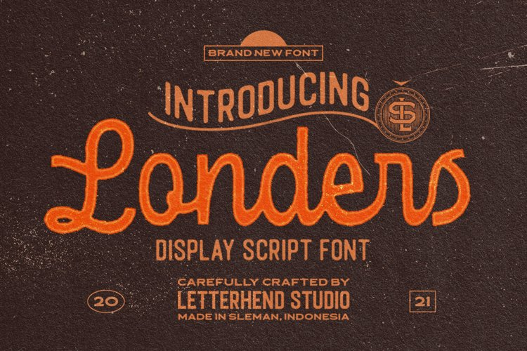 Londers - Display Script Font example image 1