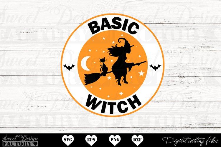 Basic witch SVG example image 1