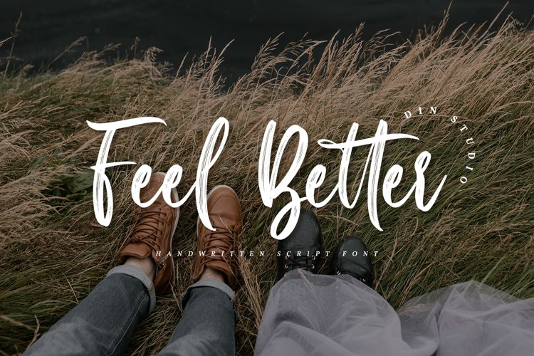 Feel Better-Elegant Handwritten Font example image 1