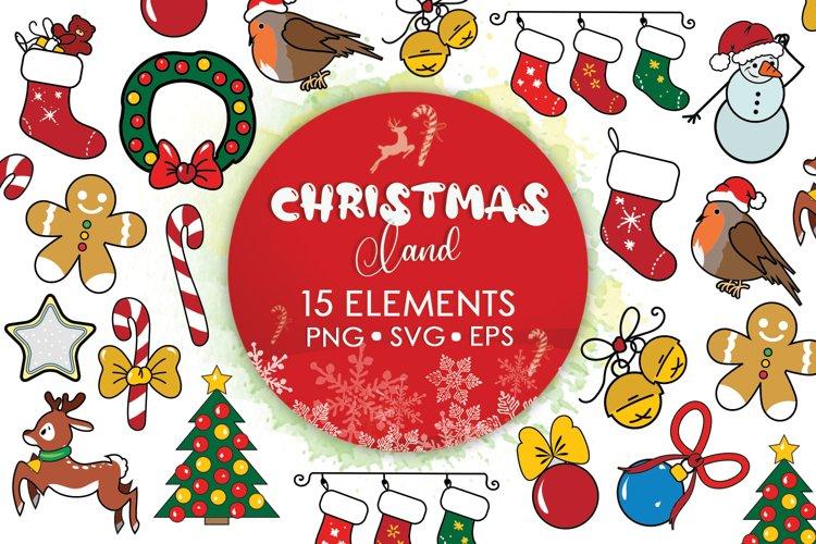 Christmas Sublimation, Christmas Decor Svg, Christmas Svg example image 1