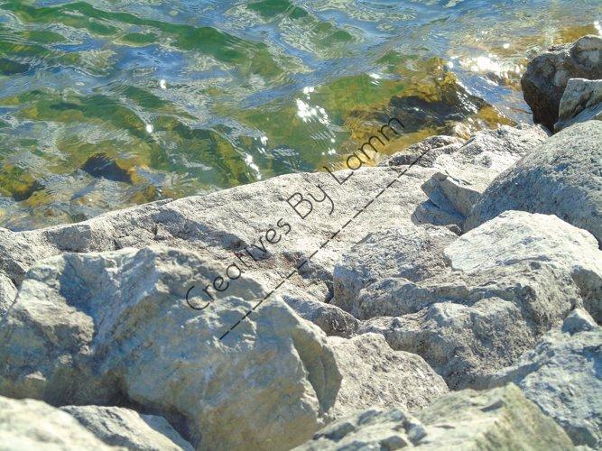 Rocks and Lake Photograph example image 1