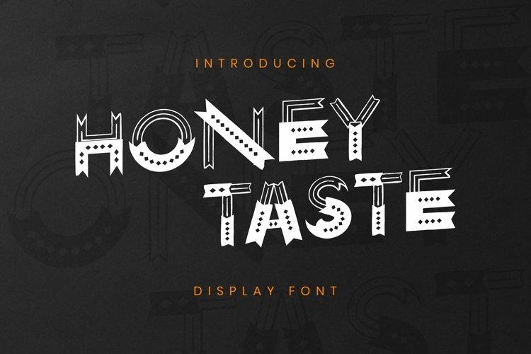 Web Font Honey Taste Font example image 1