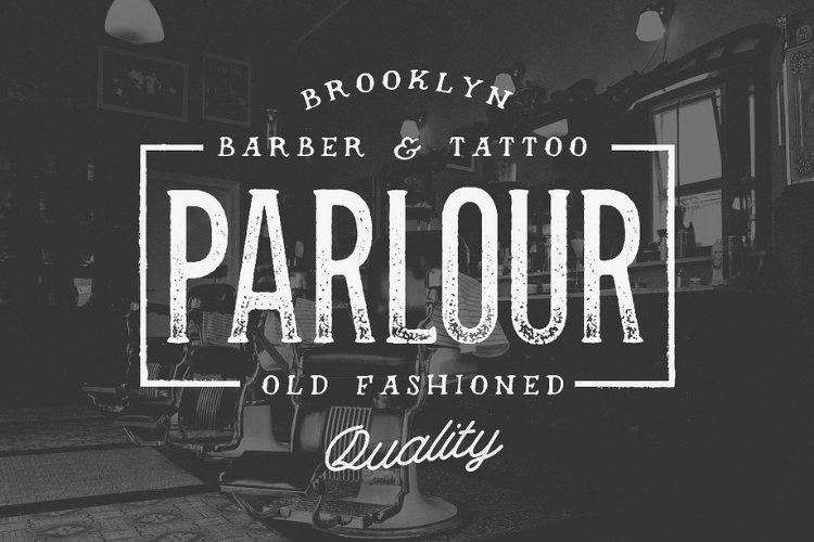 Parlour - Vintage Serif Font example image 1