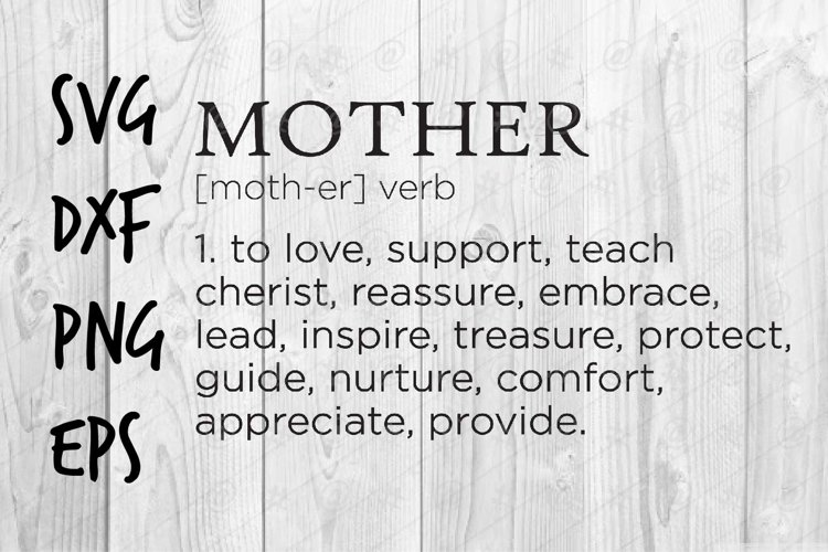 Mother SVG design example image 1