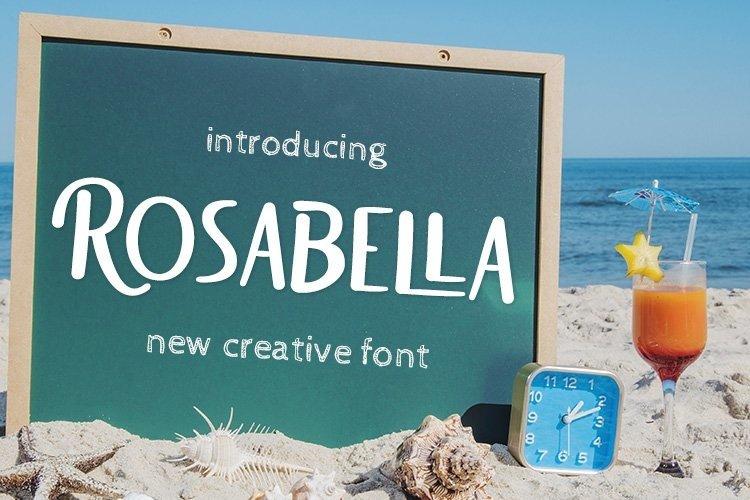 Web Font Rosabella example image 1