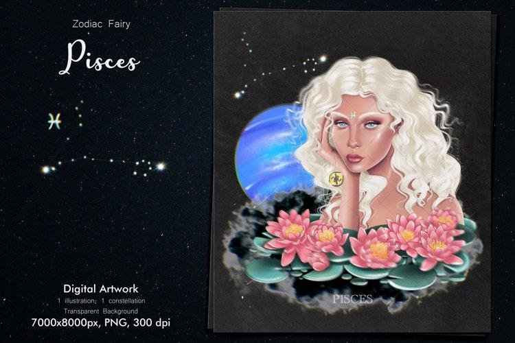 Zodiac Fairy Pisces example image 1