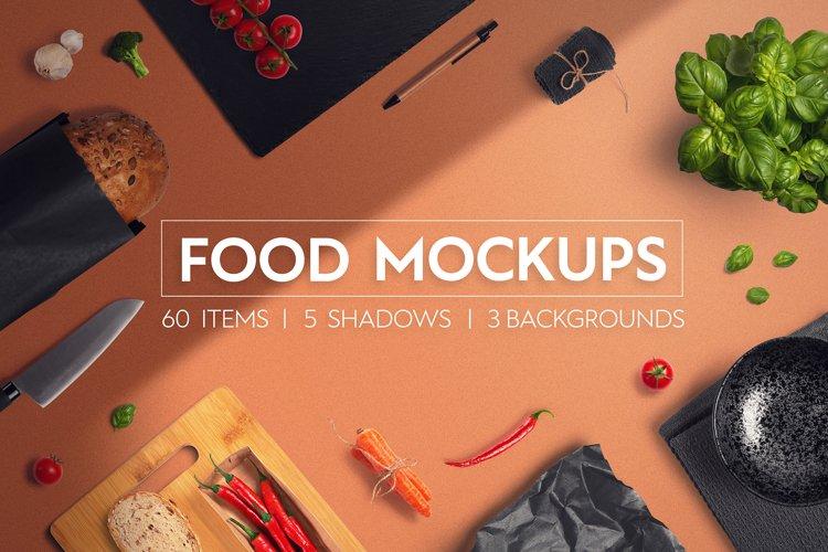 Food & Restaurant Mockup Collection