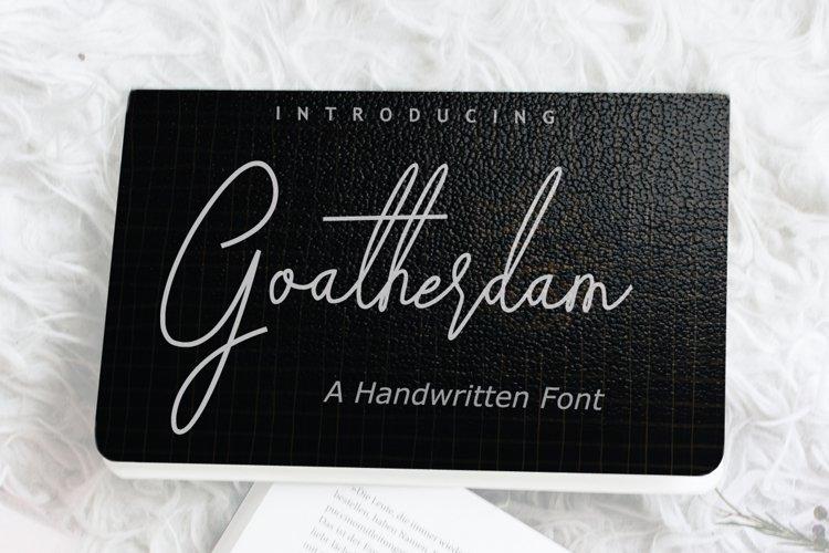 Goatherdam Font example image 1
