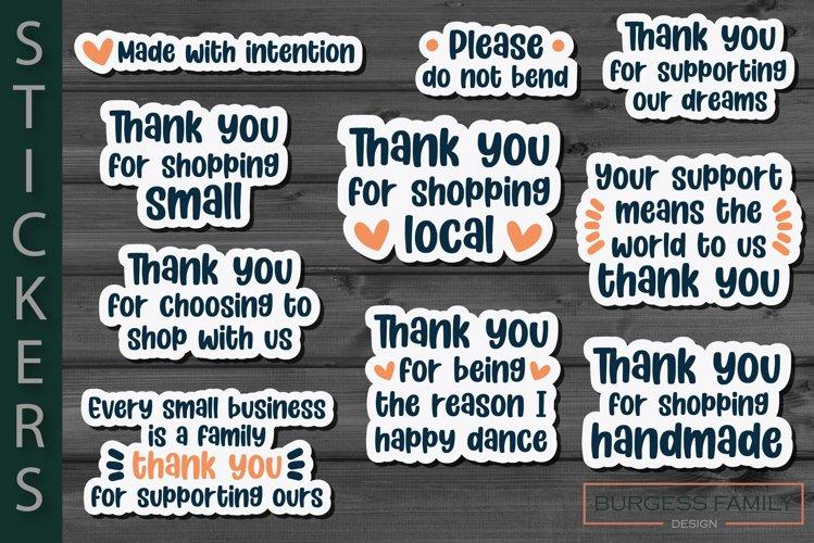 Sticker Small business bundle Vol V