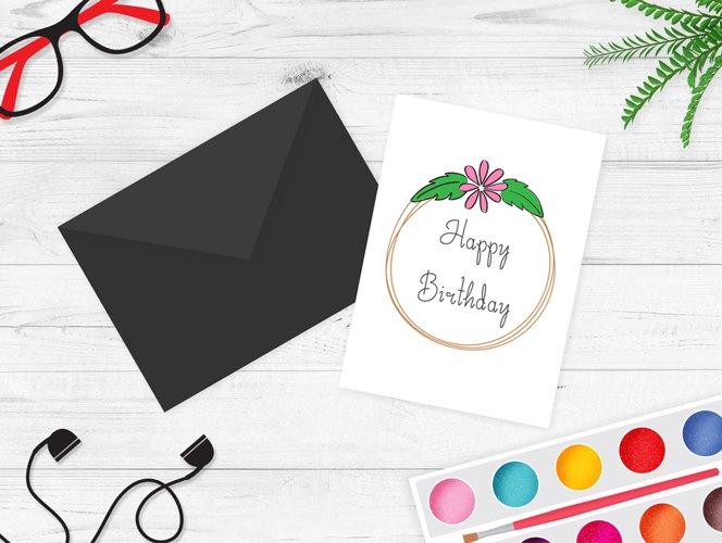 Greeting Card Mockup v4 example image 1
