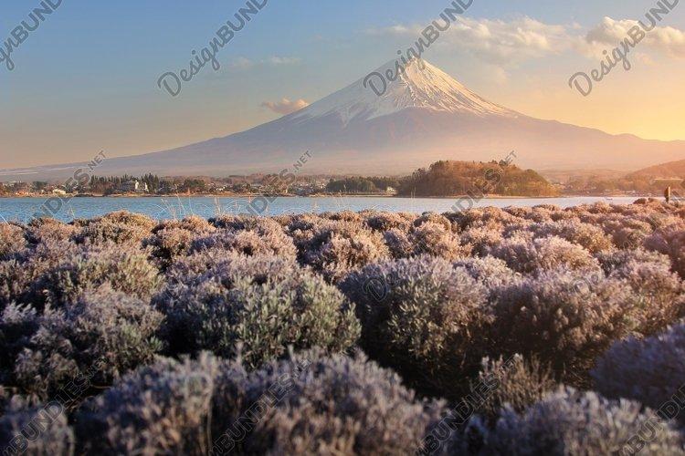 sunset of Mountain Fuji example image 1