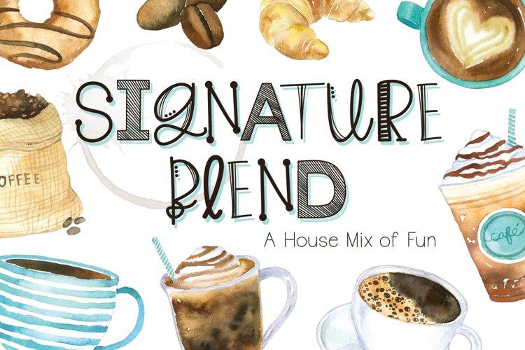 Signature Blend example image 1