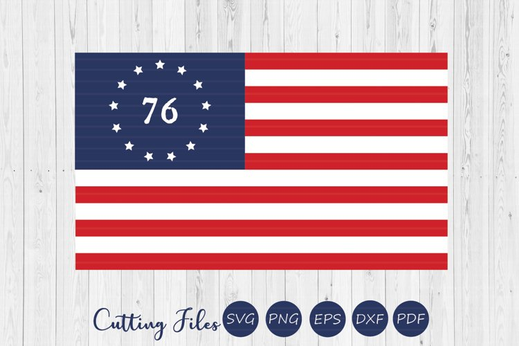 Free since 76 | 4th of July | SVG Cut files | example image 1