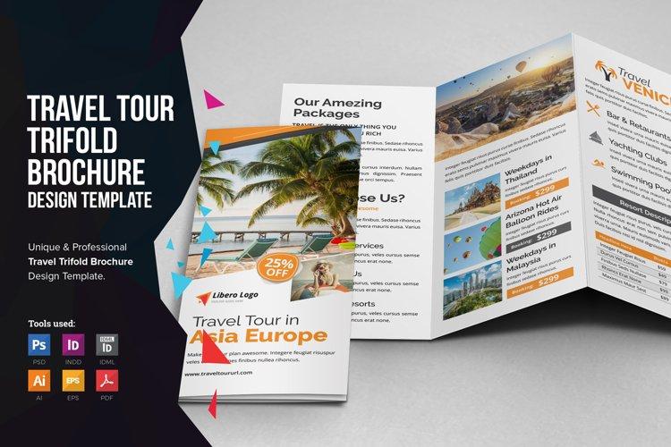 Travel Resort Trifold Brochure v4