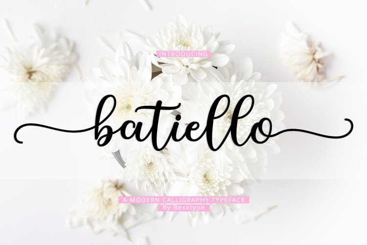 Batiello Script example image 1