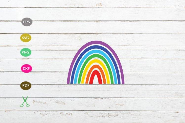 rainbow svg cut ifle,rainbow for cricut,rainbow design cut example image 1