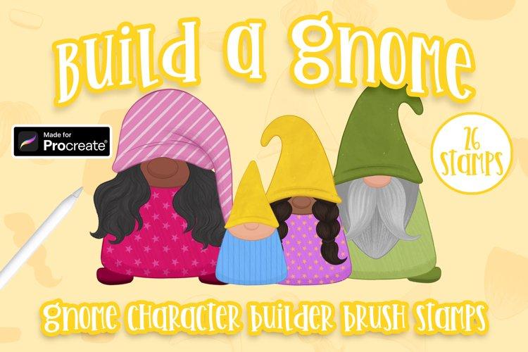 Gnome Creator brushes for Procreate   Build a gnome   Gnomes