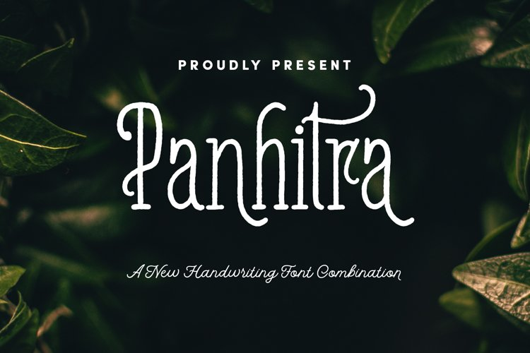Panhitra Font Family example image 1