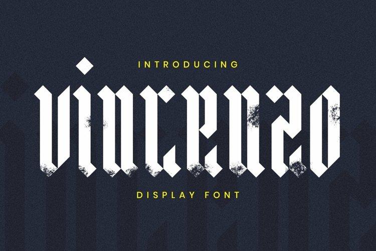 Web Font Vincenzo Font example image 1
