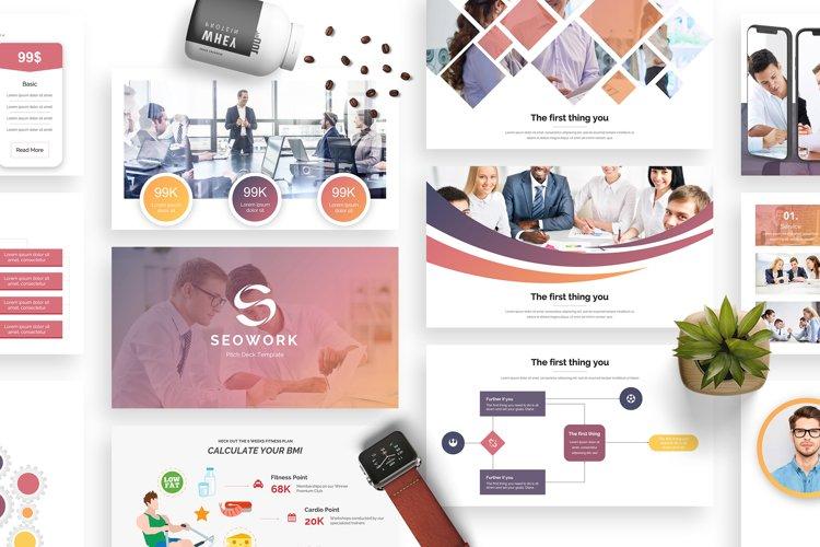 SeoWork Pitch Deck 2019 Google Slide Template