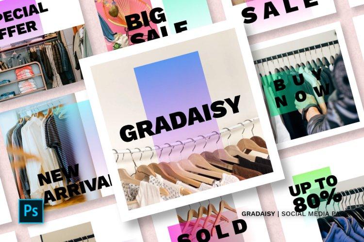 Gradaisy Social Media Pack example image 1