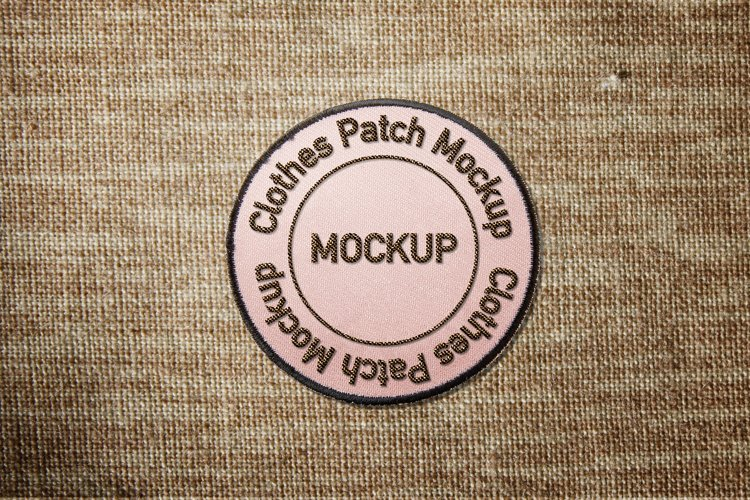 Clothes Patch Mockup example image 1