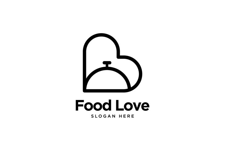 Food Love Logo example image 1