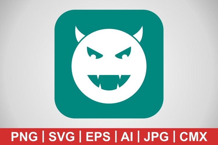 Vector Devil Icon example image 1