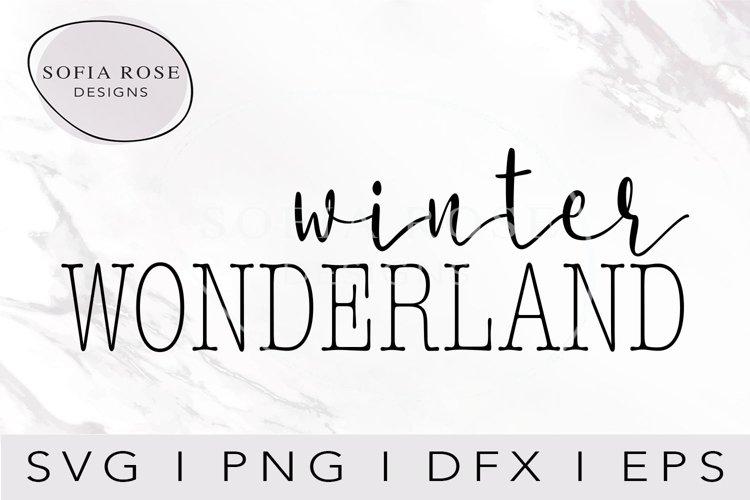 winter WONDERLAD SVG-Christmas SVG-Holiday SVG-Winter SVG example image 1