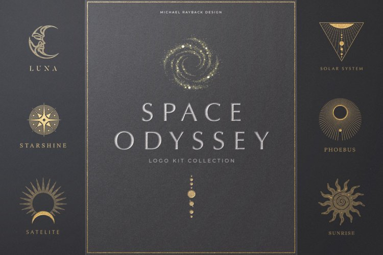 Space Odyssey Logo Collection