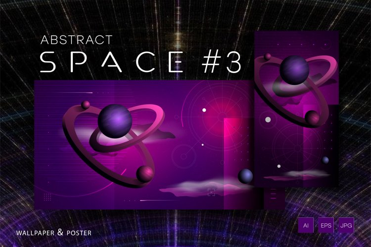 Abstract space #3 example image 1