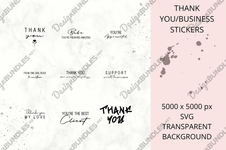 Business Thank You's example image 1